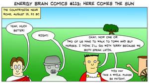 Energy Brain Comics #113: Here Comes The Sun by EnergyBrainComics