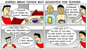 Energy Brain Comics #117: Economics For Dummies by EnergyBrainComics