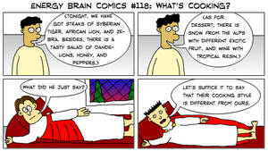 Energy Brain Comics #118: What's Cooking? by EnergyBrainComics