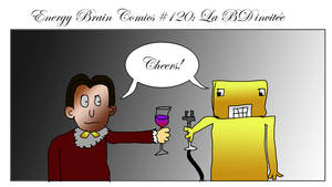 Energy Brain Comics #120: La B.D. invitee by EnergyBrainComics
