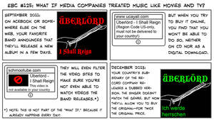What If Media Companies Treated Music Like Movies? by EnergyBrainComics