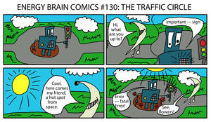 Ebc 130 Traffic Circle by EnergyBrainComics