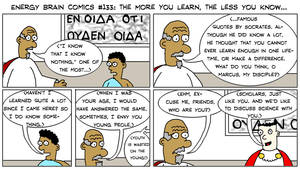 EBC #133: The More You Learn, The Less You Know... by EnergyBrainComics