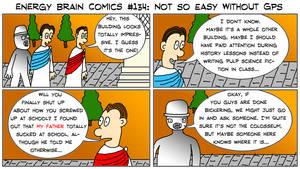 Energy Brain Comics #134: Not So Easy Without GPS by EnergyBrainComics