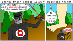 Energy Brain Comics #13[3]7: Blackest Knight by EnergyBrainComics