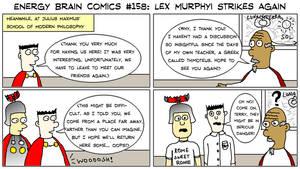 EBC #158: Lex Murphyi Strikes Again by EnergyBrainComics