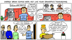 EBC #159: Not Like Your Grandpa's Thanksgiving by EnergyBrainComics