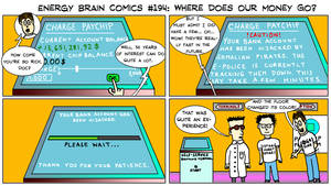 Energy Brain Comics #194: Where Does Our Money Go? by EnergyBrainComics