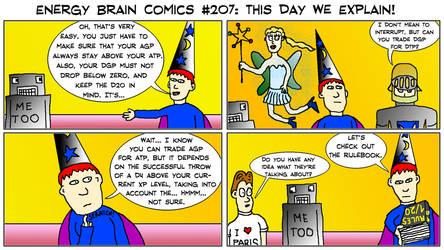 Energy Brain Comics #207: This Day We Explain! by EnergyBrainComics