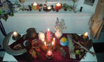 Mabon altar by AutumnalEssence