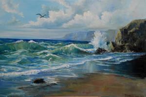 Seascape by Al4Alive