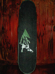 My board has gone Silent Hill by Lord-Khaneeda
