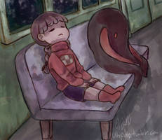 Train Ride by Ultipoter