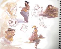 Sketchbook 2 by davidsdoodles