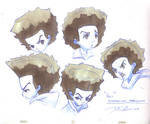 Boondocks_Huey_Expressions by davidsdoodles