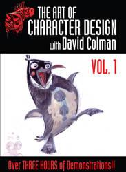 DVD Vol1 cover by davidsdoodles