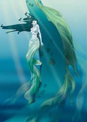 Haven_mermaidpainting by davidsdoodles