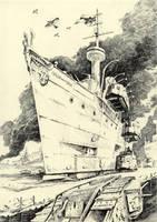 Scribbles#9 (Landcruiser) by Radomski