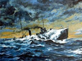 Acryl 4 (torpedoboat V.188) by Radomski