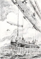 Submarine rescue airship by Radomski