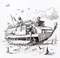 scribbles#14 by Radomski