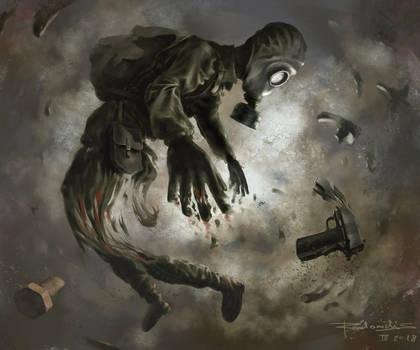 Stalker anomaly #1 by Radomski