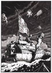 The Great War of the Worlds - Schneider team by Radomski