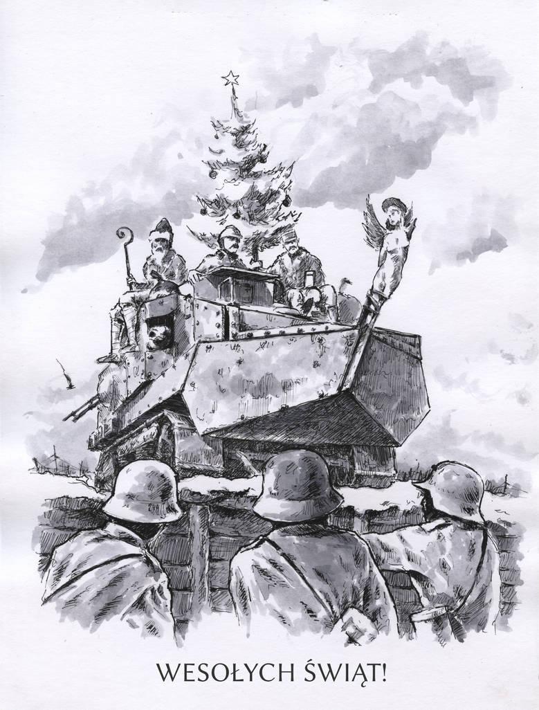 Marry Christmas by Radomski