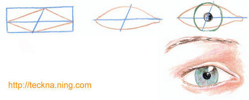 Drawing eyes by esbjorn