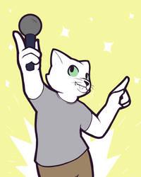 ShadowBlackCat Karaoke by Zenon-Kadenbach