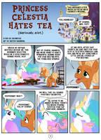 Princess Celestia hates tea - page 1 by Mister-Saugrenu