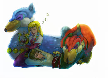 LoZ: The Song of the Goddess by Foxsnout45