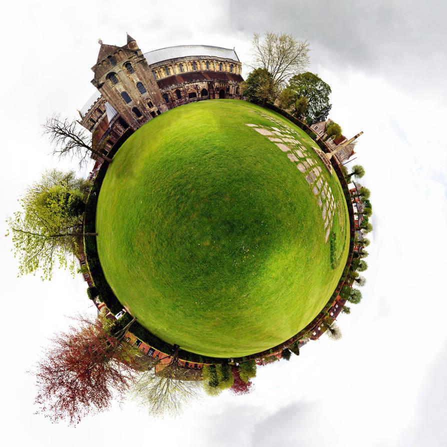 Planet Romsey Church by Samtheengineer