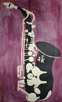 Black Sax by Samtheengineer