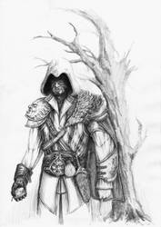 Ezio Auditore by froggywoggy11