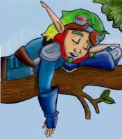 sleeping on the job by lozfitzy