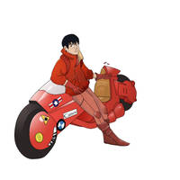 Akira - kaneda by lozfitzy