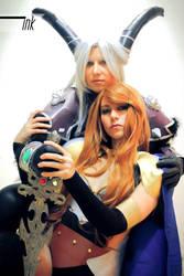 Valkyrie and Loki by io-samma