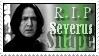 Severus Snape Stamp by LilyLunaPotter