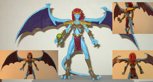 custom Demona action figure by chaosdestine