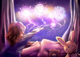 New Year's Wishes by rrentherosedove