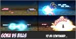 Goku VS Bills (Comic Test) by Majingoku77