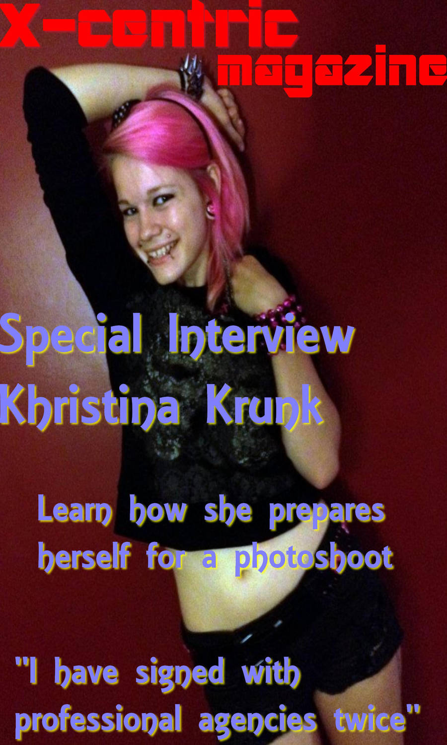 Special Interview With Khristina Krunk By Xxkatenightxx On Deviantart