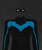 Nightwing Minimalist by Suxius