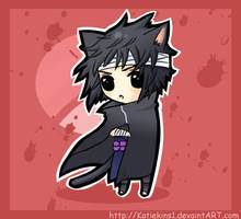 Chibi Sasuke:  Uchiha Blood by KteaCrumpet