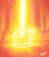 Pikachu Used Thunderbolt by KteaCrumpet
