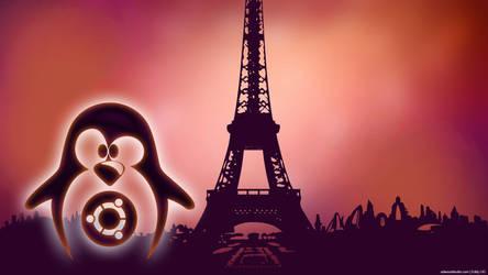 Ubuntu in Future Paris by edwood972