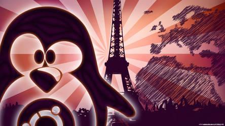Ubuntu in Future Paris 2 by edwood972