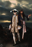 Norrington and Sparrow by theband
