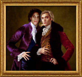Vampires Lestat and Nicolas by theband